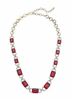 "Ralph Lauren 17"" Stone Collar Necklace"