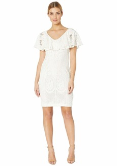 Ralph Lauren 177A Lore Floral Lace Tamalira Sleeveless Day Dress