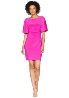 Ralph Lauren 1T Matte Jersey Jessup 3/4 Sleeve Day Dress
