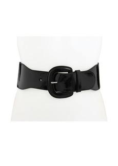 "Ralph Lauren 3"" Patent Stretch Belt"