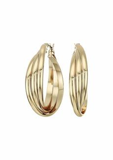 Ralph Lauren 34 mm Knot Hoop Earrings