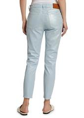Ralph Lauren 400 Matchstick Foiled Skinny Jeans