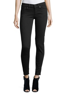Ralph Lauren 400 Matchstick Mid-Rise Jeans  Black Rinse