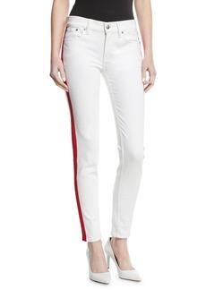 Ralph Lauren 400 Matchstick Skinny Jeans w/ Tux Stripe