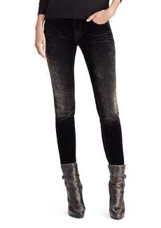 Ralph Lauren 50th Anniversary Easton Mid-Rise Skinny Jeans