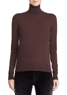 Ralph Lauren 50th Anniversary Turtleneck Long-Sleeve Cashmere Sweater