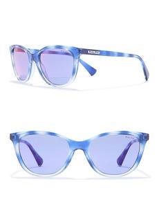 Ralph Lauren 54mm Cat Eye Sunglasses