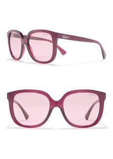 Ralph Lauren 55mm Oversized Square Sunglasses