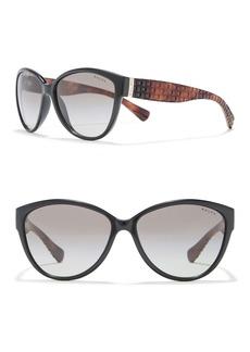 Ralph Lauren 58mm Cat Eye Sunglasses