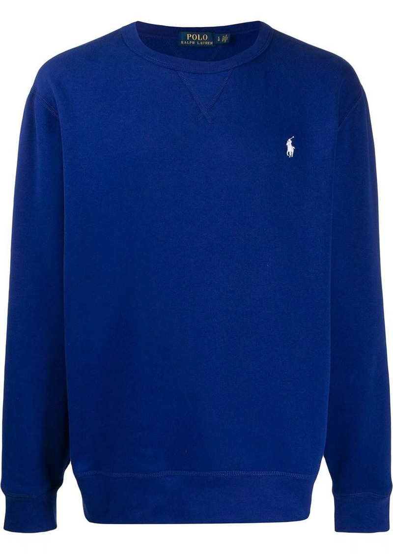 Ralph Lauren embroidered logo relaxed-fit sweatshirt