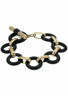 "Ralph Lauren 7.75"" Circle Link Flex Bracelet"