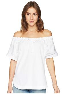 Ralph Lauren 80s Cotton Broadcloth Short Sleeve Shirt