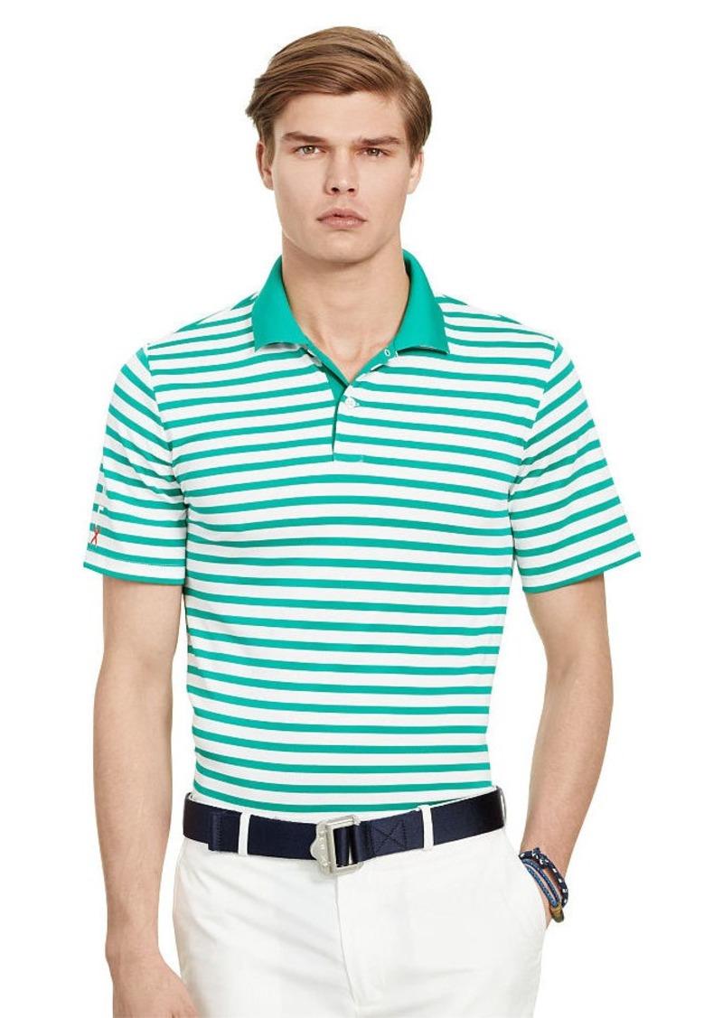 Ralph Lauren Active-Fit Striped Piqué Polo