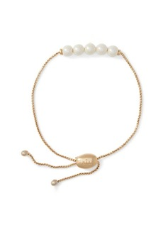 Ralph Lauren Adjustable Faux-Pearl Bracelet