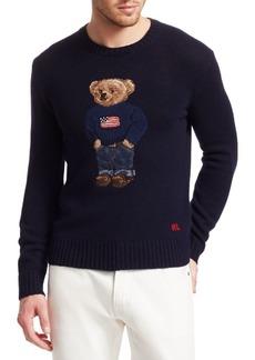 Ralph Lauren Admiral Bear Wool & Cashmere Sweater