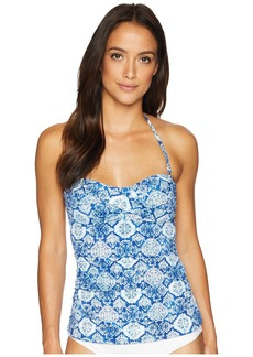 Ralph Lauren Aegean Tile Twist Tubini Top