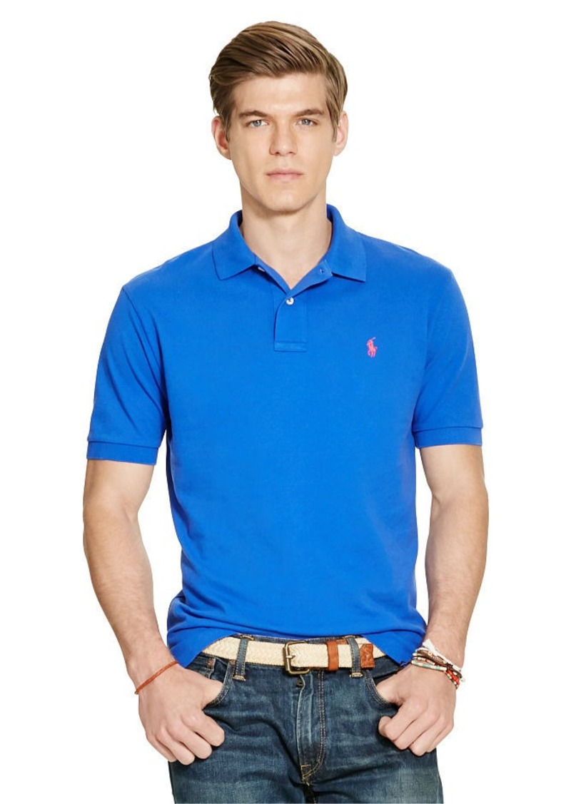 Ralph Lauren aFeoOverrideAttrRead('img', 'src')Classic-Fit Mesh Polo Shirt