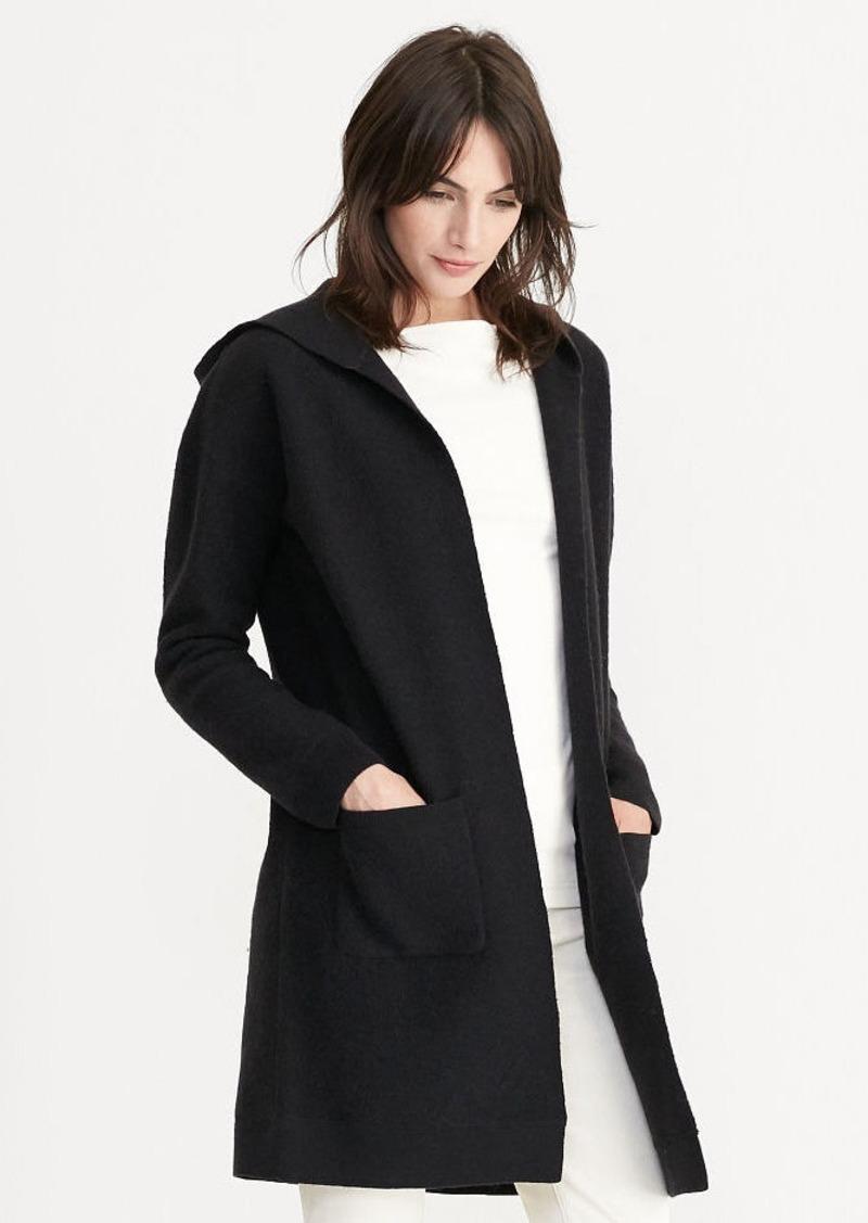 Ralph Lauren Hooded Wool Cardigan