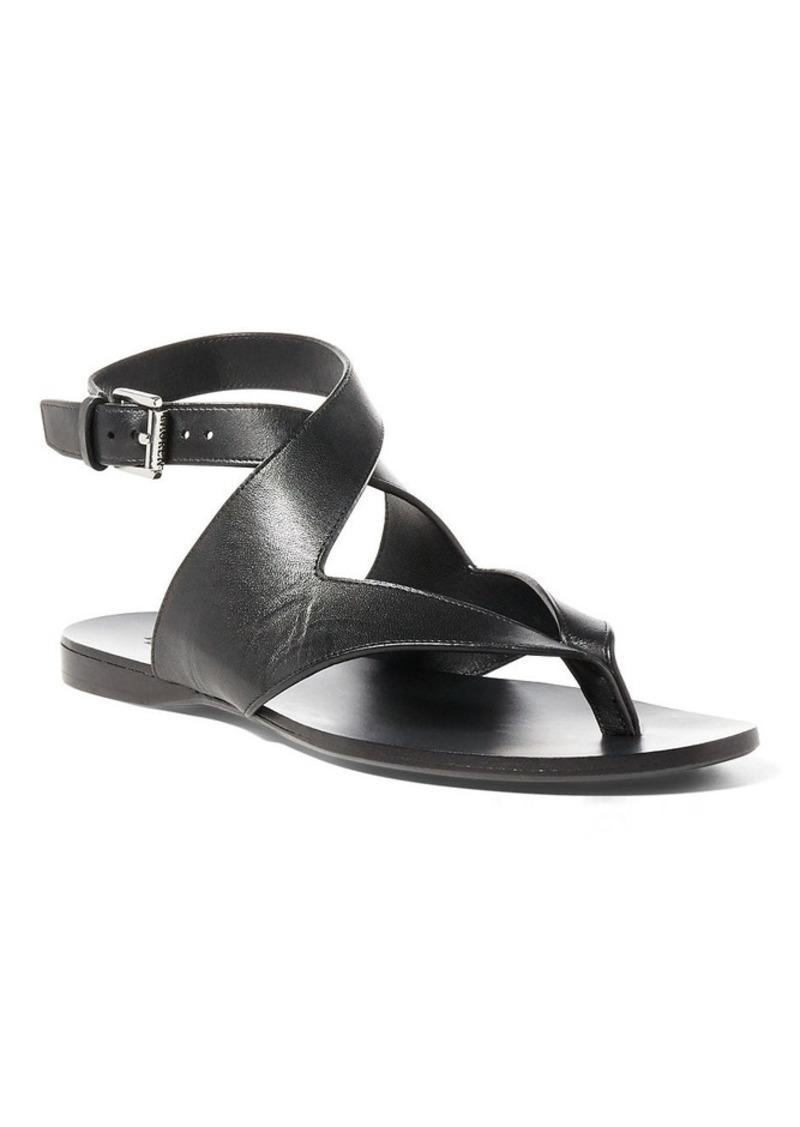 Ralph Lauren aFeoOverrideAttrRead('img', 'src')Nappa Leather Sandal