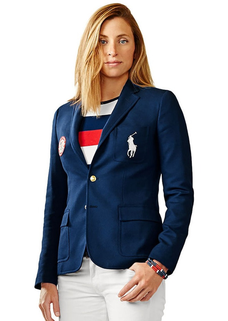 Ralph Lauren Team USA Ceremony Wool Blazer