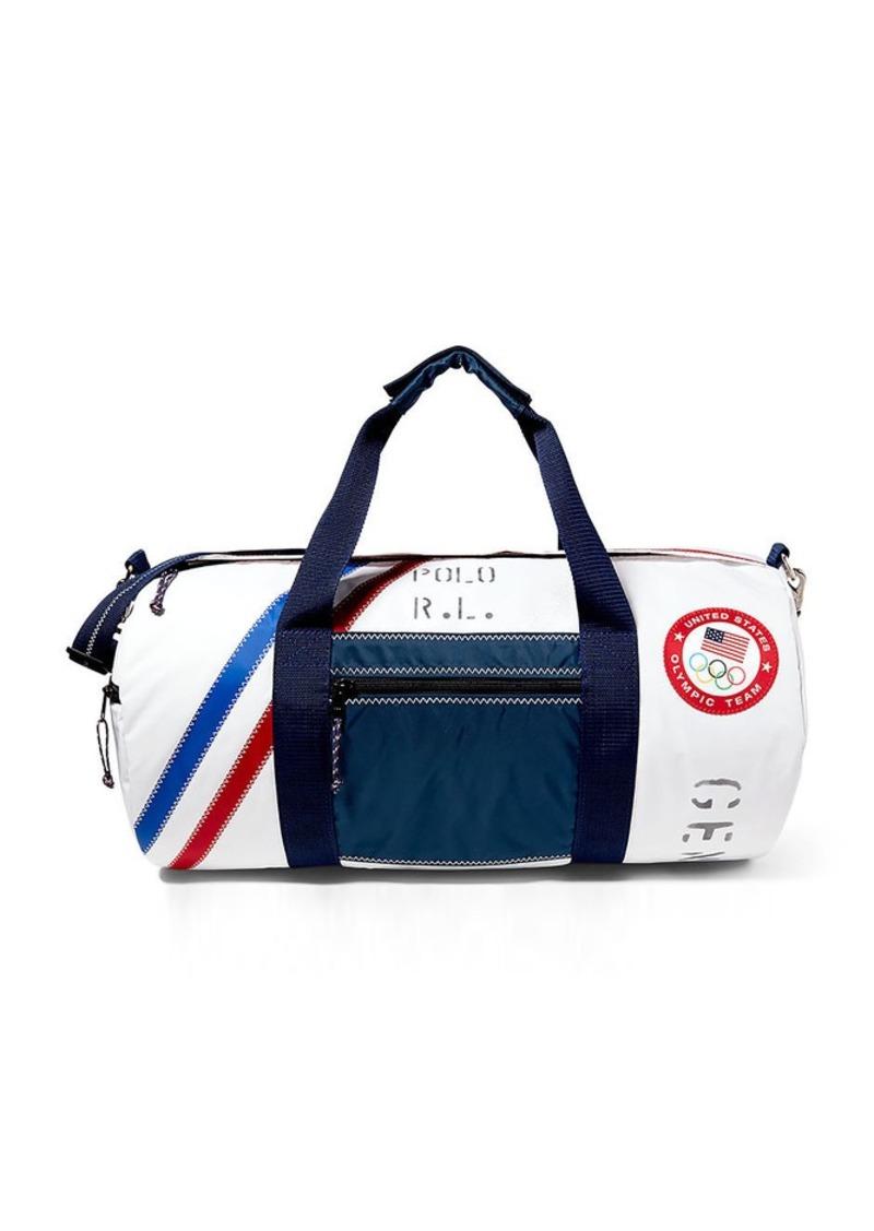 Ralph Lauren aFeoOverrideAttrRead('img', 'src')Team USA Sailcloth Duffel