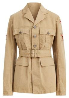 Ralph Lauren Afton Twill Safari Jacket