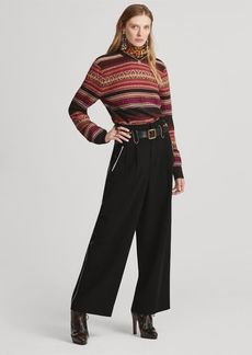 Ralph Lauren Agethe Wool-Blend Pant