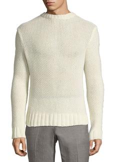 Ralph Lauren Air-Spun Seed-Stitch Cashmere Sweater