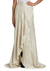 Ralph Lauren Alana Floral Silk Skirt