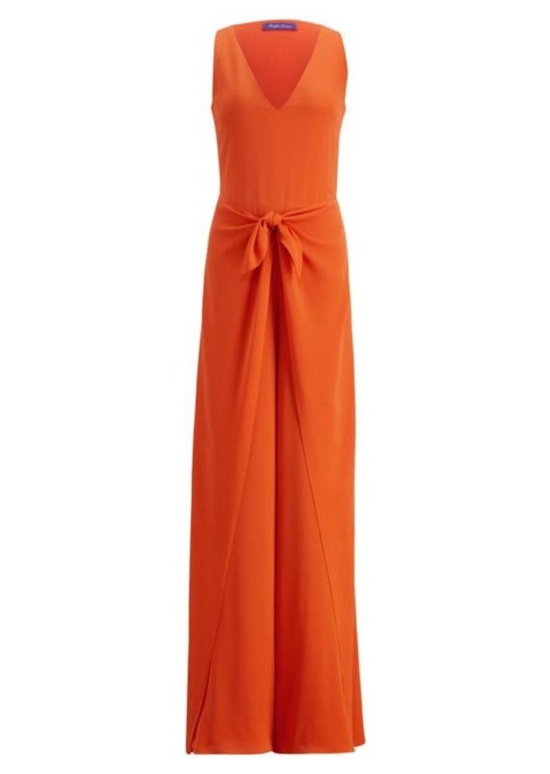 On Sale Today Ralph Lauren Alana Silk Jumpsuit