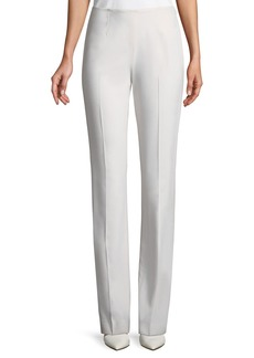 Ralph Lauren Alandra Straight-Leg Wool Pants