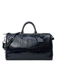 Ralph Lauren Alligator Boston Bag