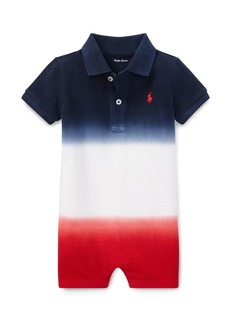 Ralph Lauren Americana Gradient Collared Shortall