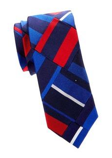 Ralph Lauren Americana Patchwork Silk Tie