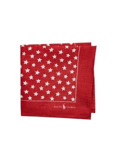 Ralph Lauren Americana Red Stars Bandana