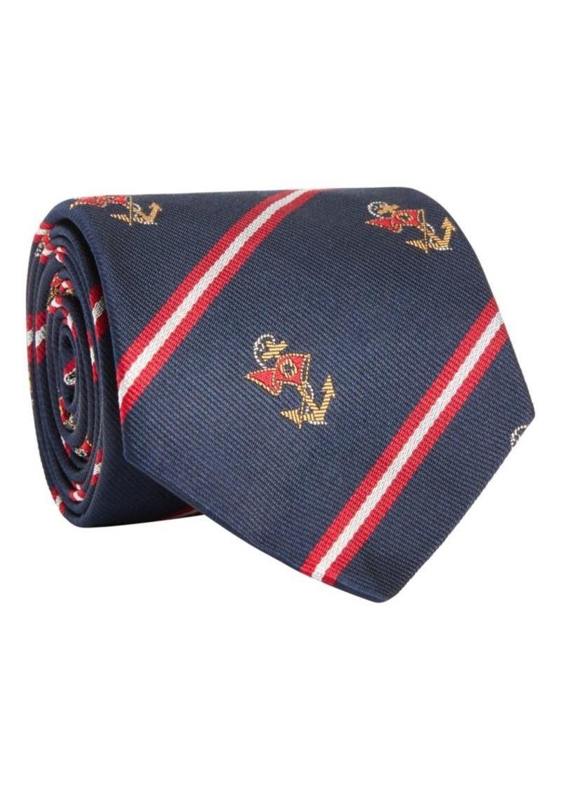 Ralph Lauren Anchor Club Silk Tie