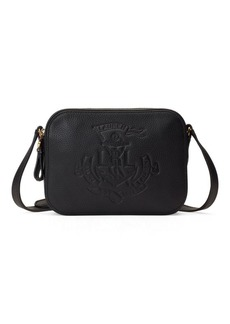Ralph Lauren Anchor Leather Camera Bag