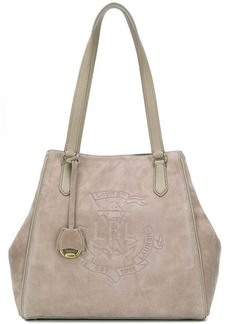 Ralph Lauren Anchor suede tote bag
