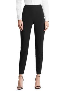 Ralph Lauren Annie Cropped Wool Crepe Pants