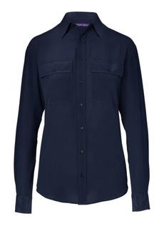 Ralph Lauren Antoinette Silk Shirt