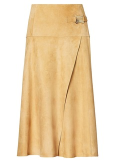 Antonella Suede Skirt
