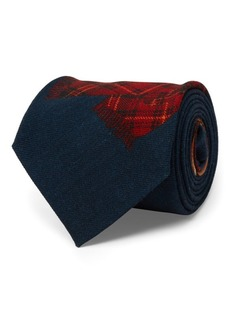 Ralph Lauren Aprés-Ski Wool Narrow Tie