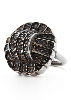 Ralph Lauren Art Deco Crystal Ring
