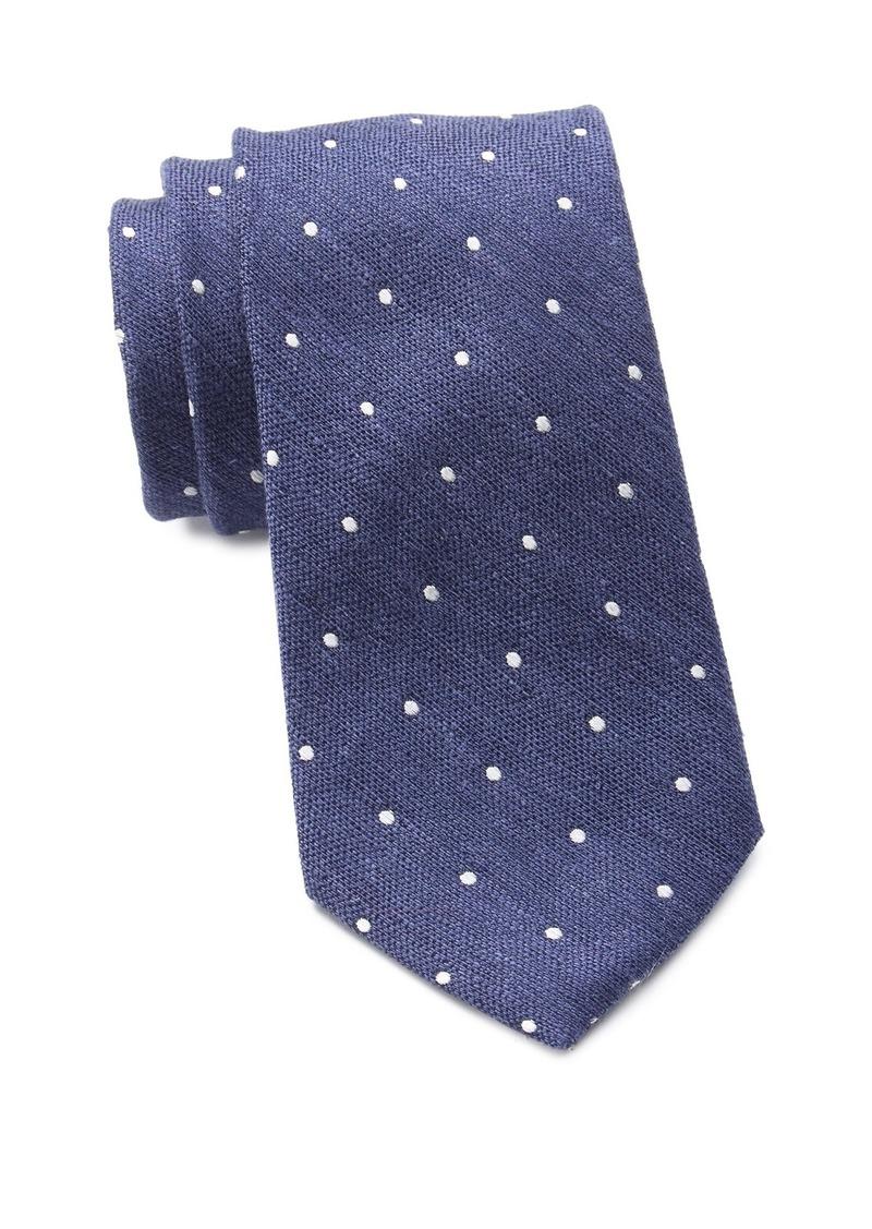 Ralph Lauren Artisanal Woven Dot Tie