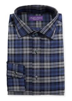 Ralph Lauren Ashton Large Multicolor Plaid Dress Shirt