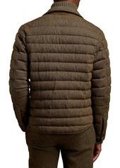 Ralph Lauren Astor Quilted Tweed Jacket
