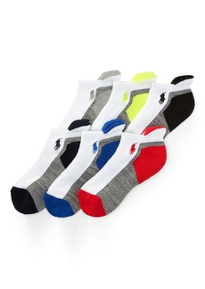 Ralph Lauren Athletic Crew Sock 6-Pack