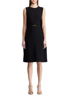 Ralph Lauren Aviana Belted Cape Dress