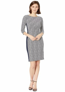 Ralph Lauren B746 Lugano Geo Drewly 3/4 Sleeve Day Dress
