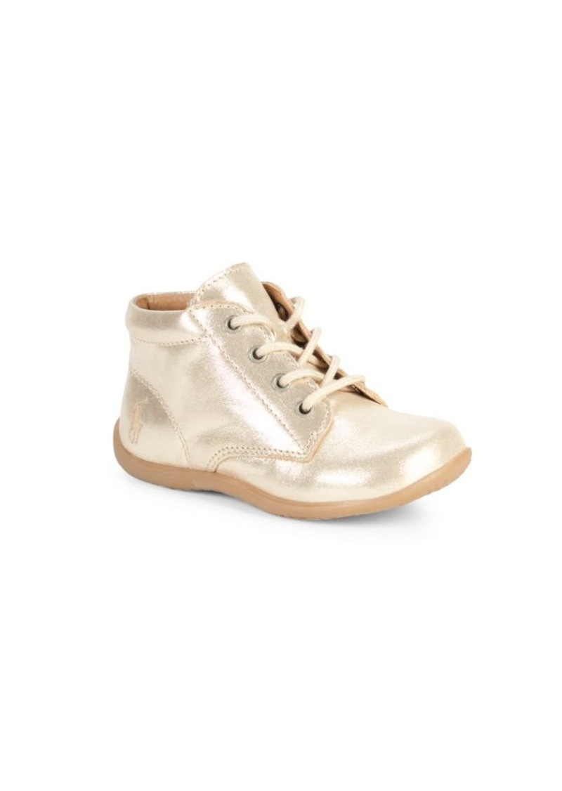 Ralph Lauren Baby's & Little Girl's Kinley Metallic Sneakers
